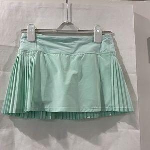 Lululemon Mint Green Tennis Skirt